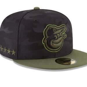 NEW MEN'S ORIOLES FITTED 7 5/8 MEMORIAL DAY HAT